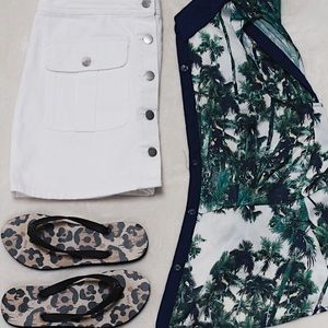 Silk Palm Tree Shirt from Forever 21